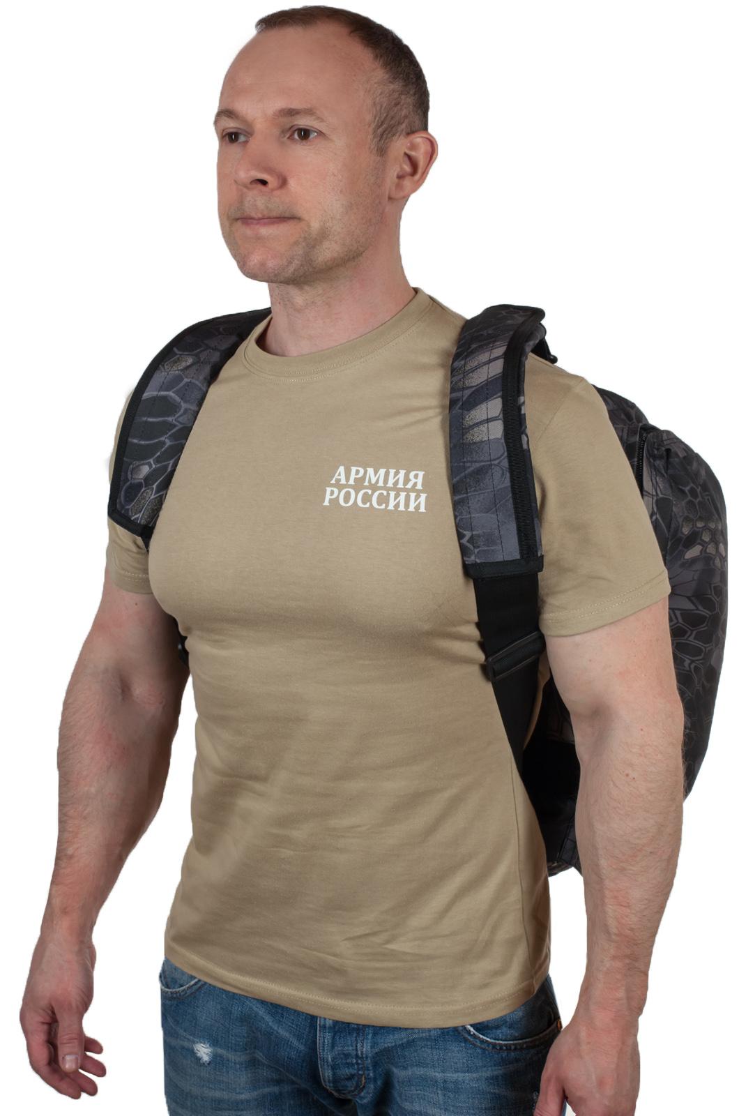 Мужская надежная сумка с нашивкой УГРО - заказать в розницу