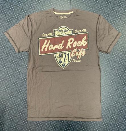 Мужская оливковая футболка от Hard Rock