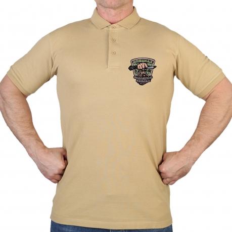 Мужская оригинальная футболка-поло с вышивкой Охотничий Спецназ