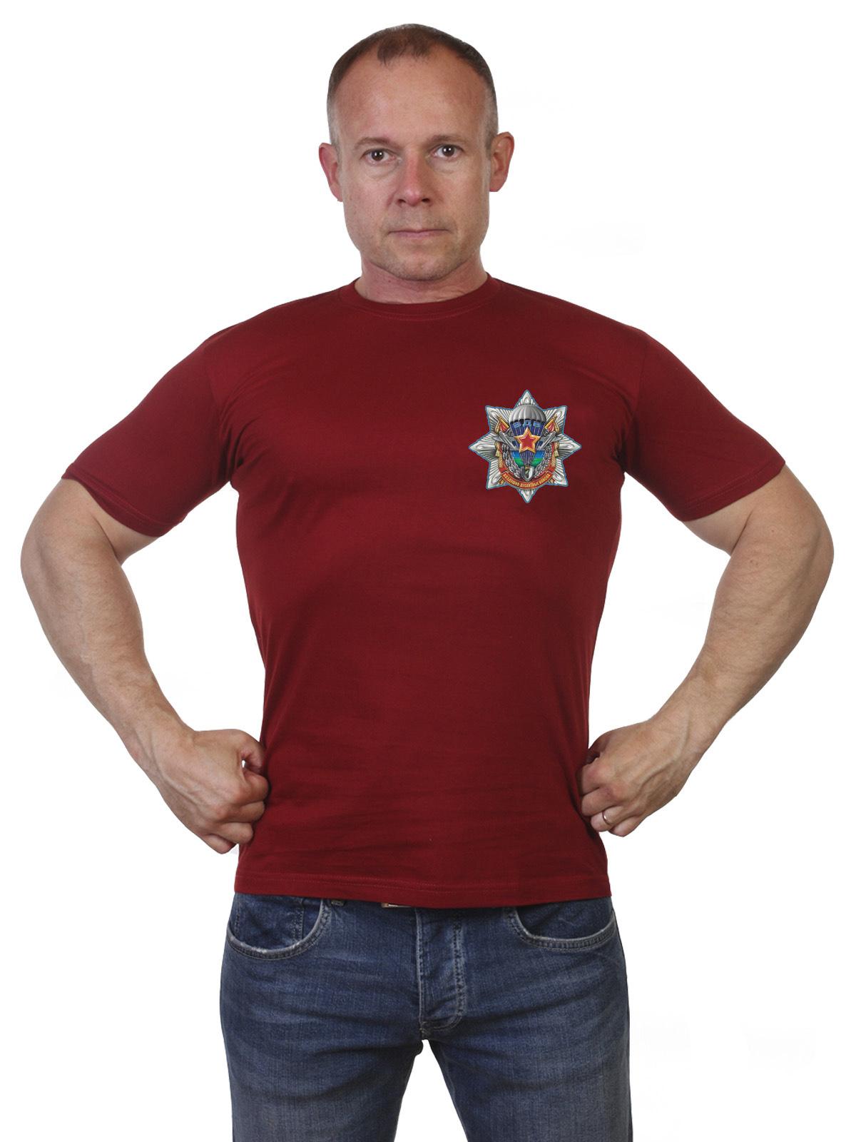 Купить мужскую оригинальную футболку с символикой ВДВ по экономичной цене