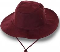 Мужская шляпа с ремешком и широкими полями. Натуральный хлопок. Заказывайте!