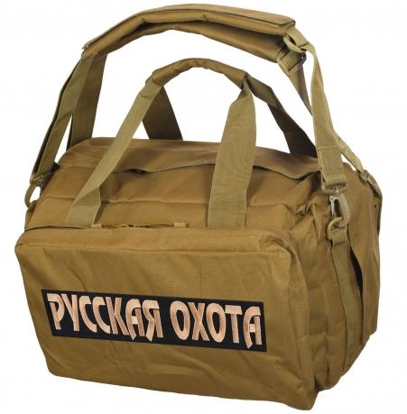 Мужская походная сумка с нашивкой Русская Охота - купить выгодно
