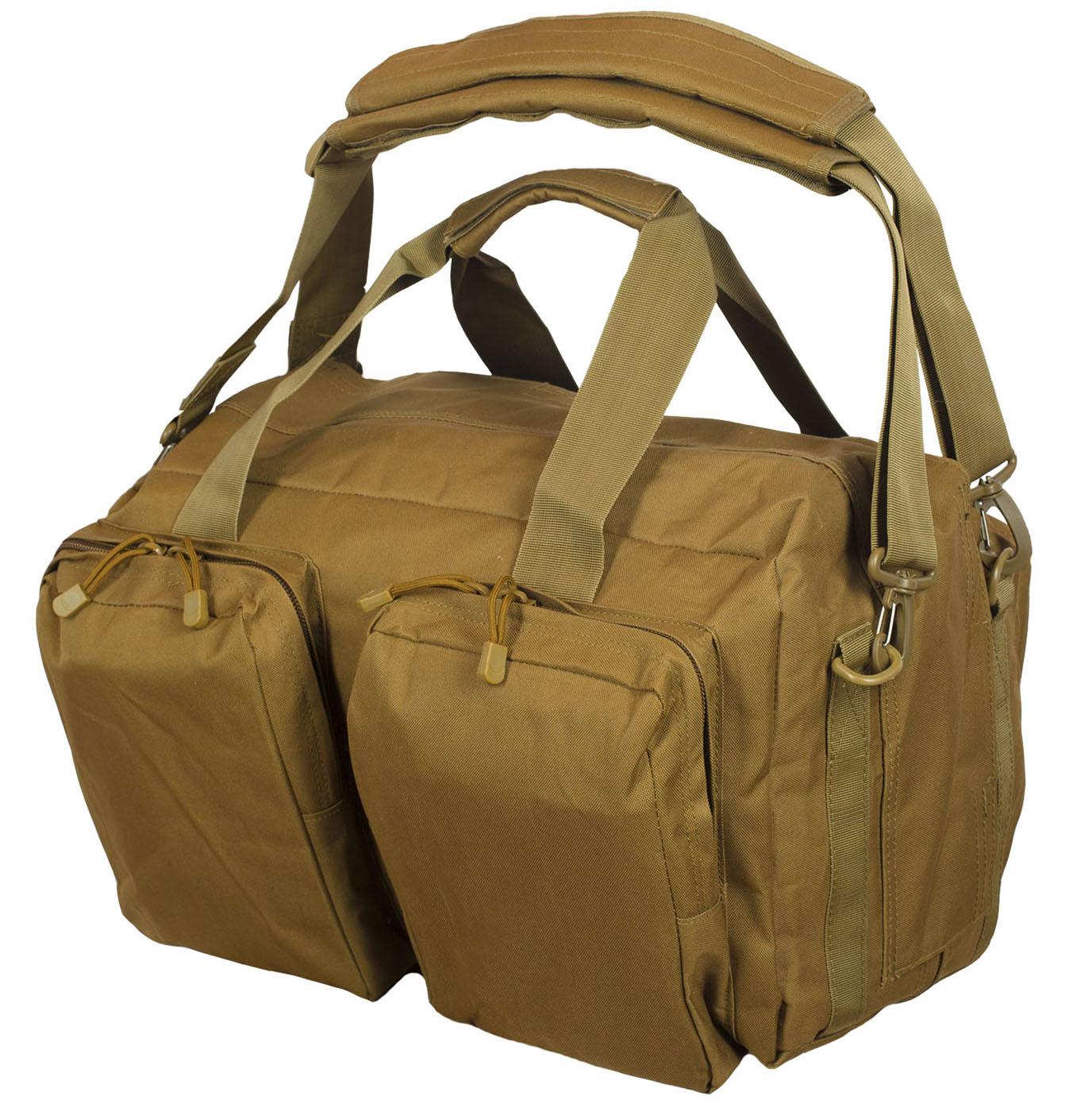 Мужская походная сумка с нашивкой Русская Охота - заказать оптом