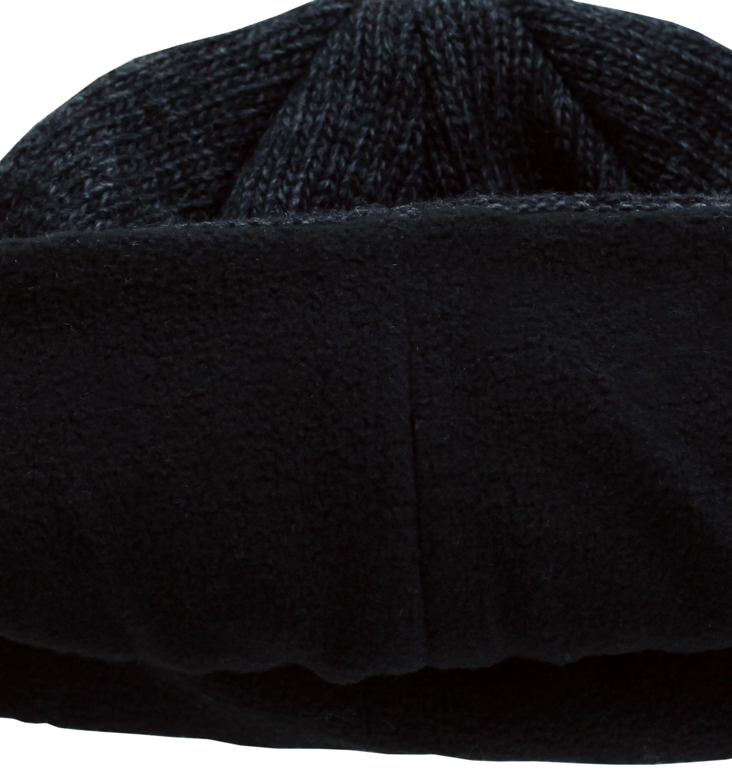 Заказать мужскую популярную утепленную флисом шапку практичная модель по лояльной цене