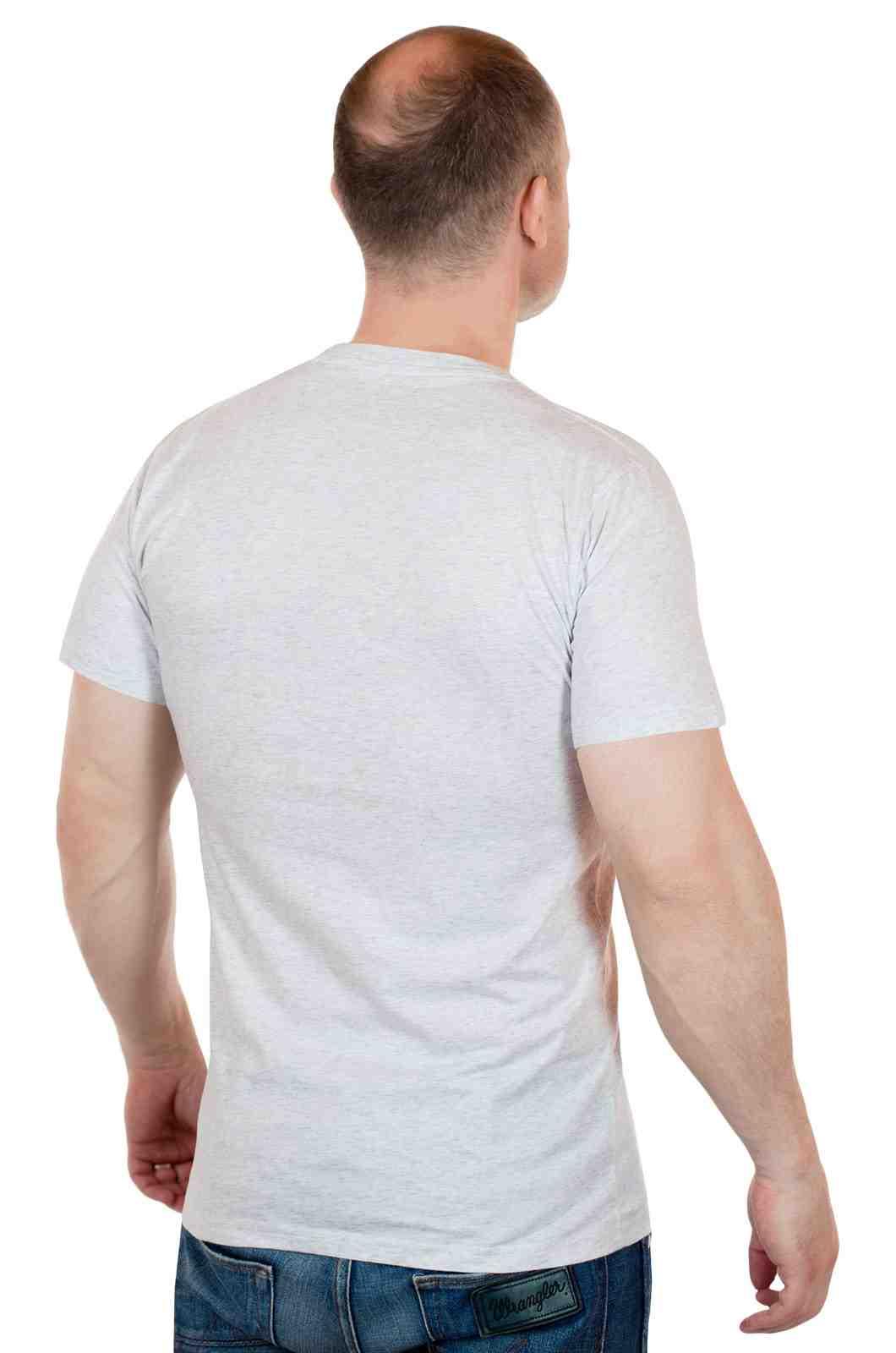 Мужская повседневная футболка от ARTICLE (США)-сзади