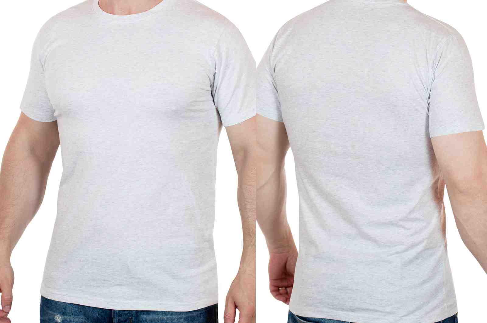Мужская повседневная футболка от ARTICLE (США)-двойной ракурс