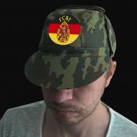 Мужская практичная кепка с шевроном ГСВГ