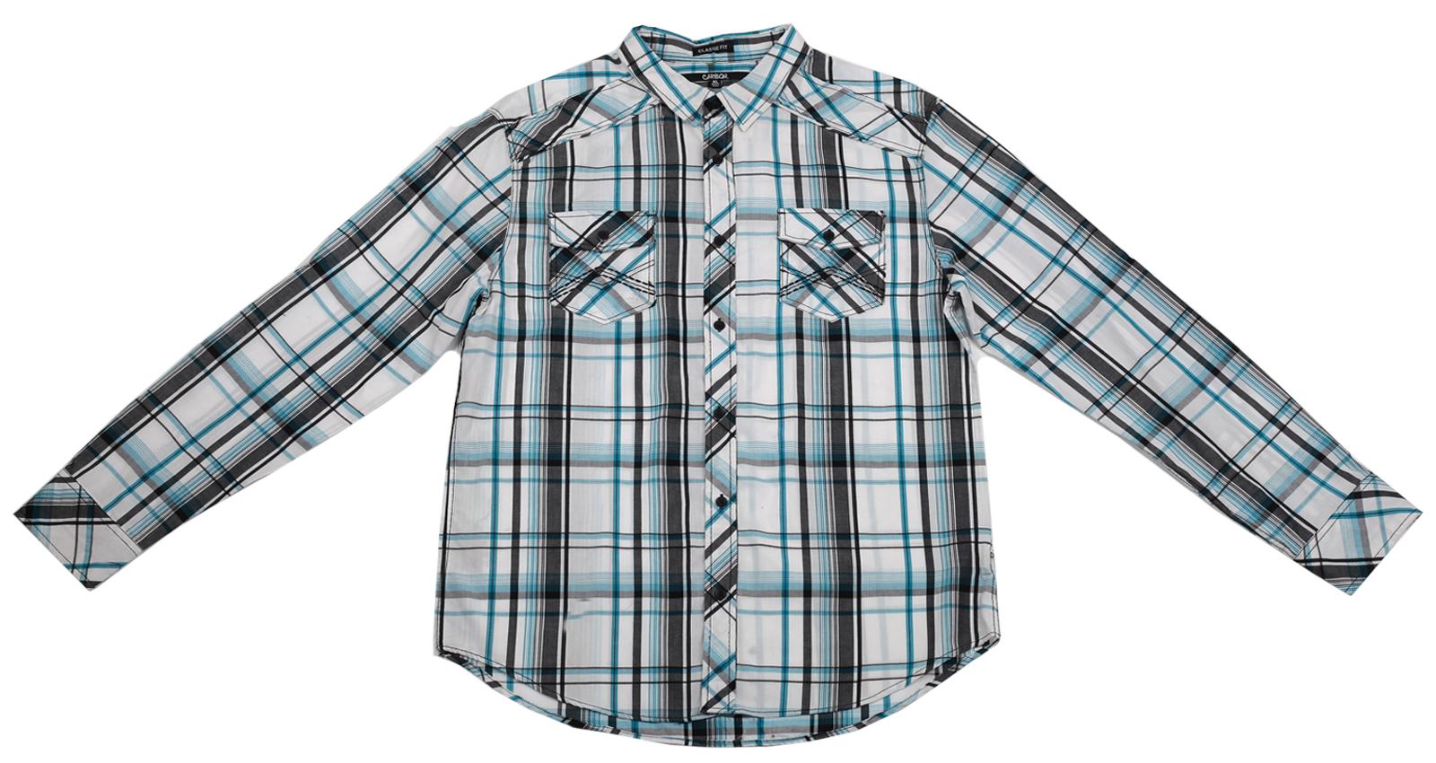 Мужская рубашка Carbon в клетку