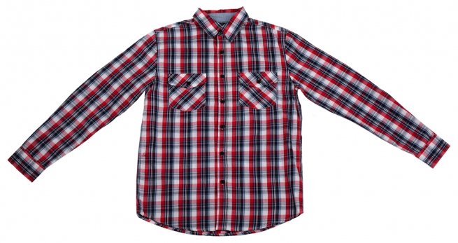 Мужская рубашка CSL в клетку