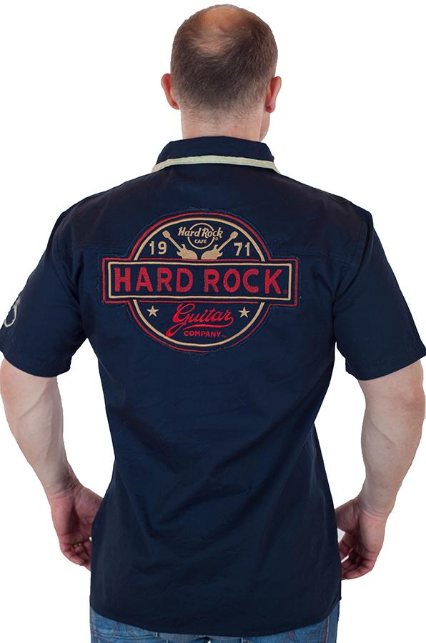 Мужская рубашка Hard Rock Guitar Company по лучшей цене