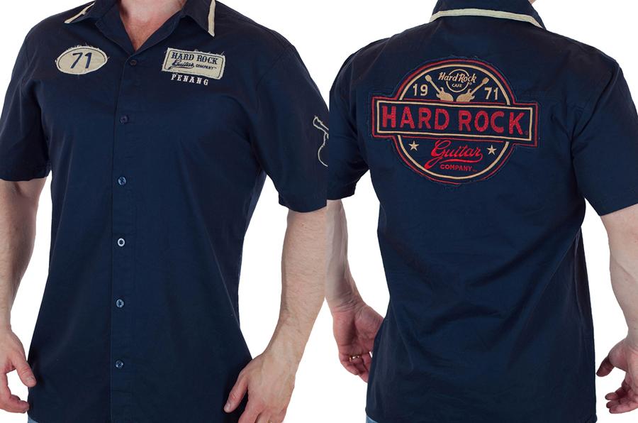 Мужская рубашка Hard Rock Guitar Company с доставкой
