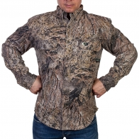 Мужская рубашка из камуфляжа от Mossy Oak (США)