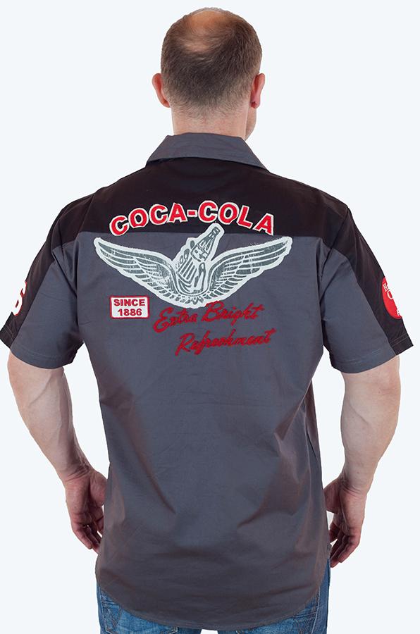 Мужская рубашка из коллекции Coca Cola по лучшей цене