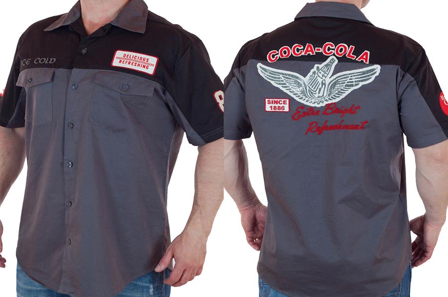 Мужская рубашка из коллекции Coca Cola с доставкой
