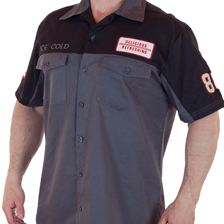 Мужская рубашка из коллекции Coca Cola
