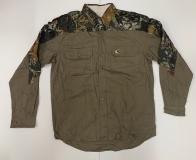 Мужская рубашка Mossy Oak с камуфляжными вставками