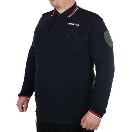 """Мужская рубашка-поло """"Полиция"""""""