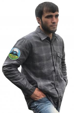 Мужская рубашка с эмблемой 24 ОБрСпН