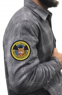 Мужская рубашка с шевроном 67-ая ОБрСпН купить онлайн
