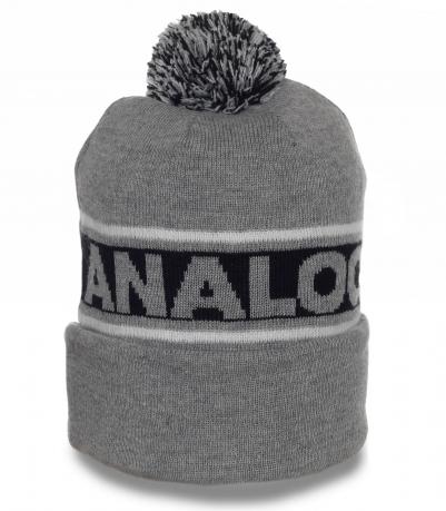Мужская шапка Analog. Современная модель отличного качества. То, что нужно в холодное время года