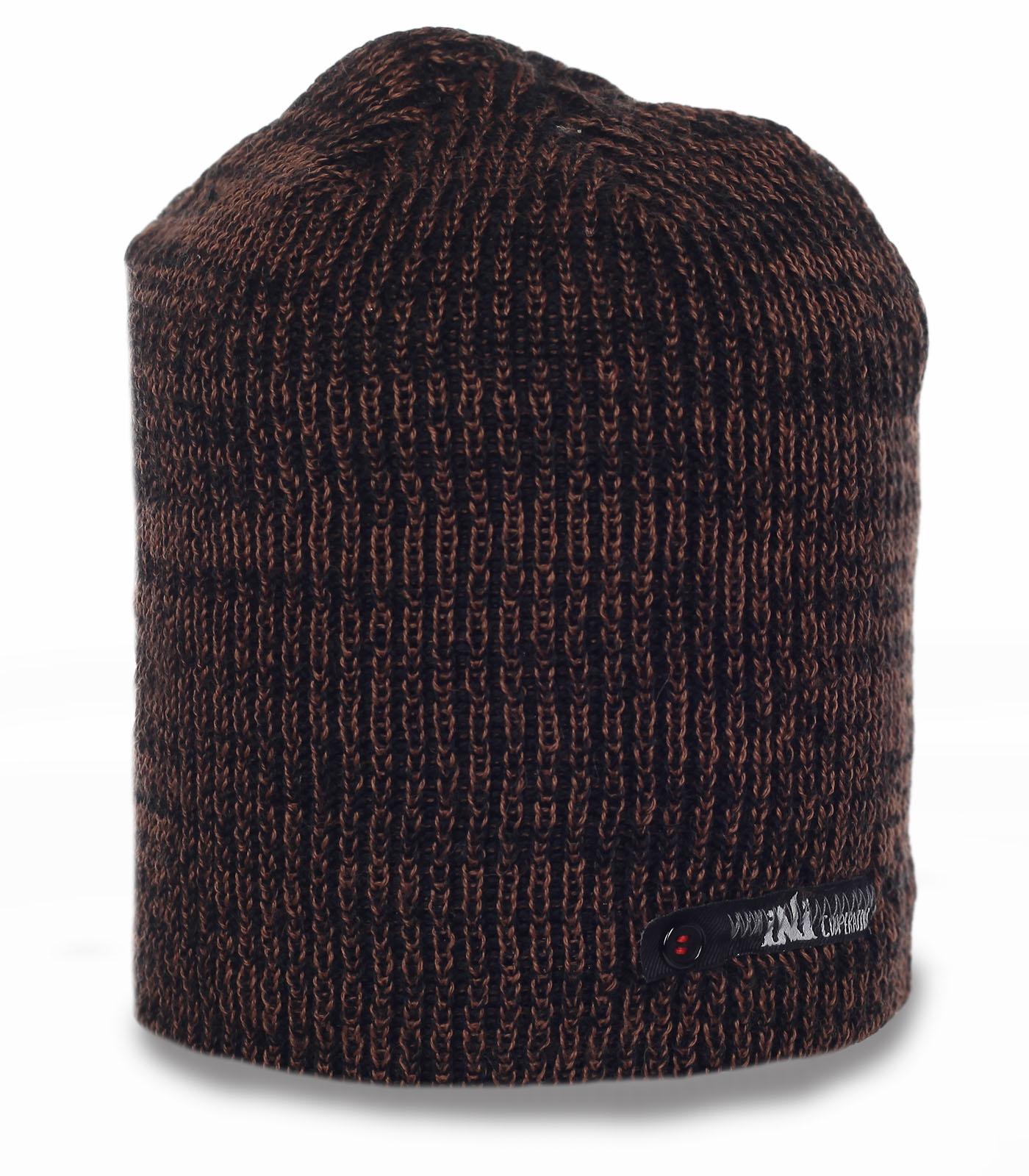 Мужская шапка Cooperative. Теплая вязаная модель на каждый день и не только