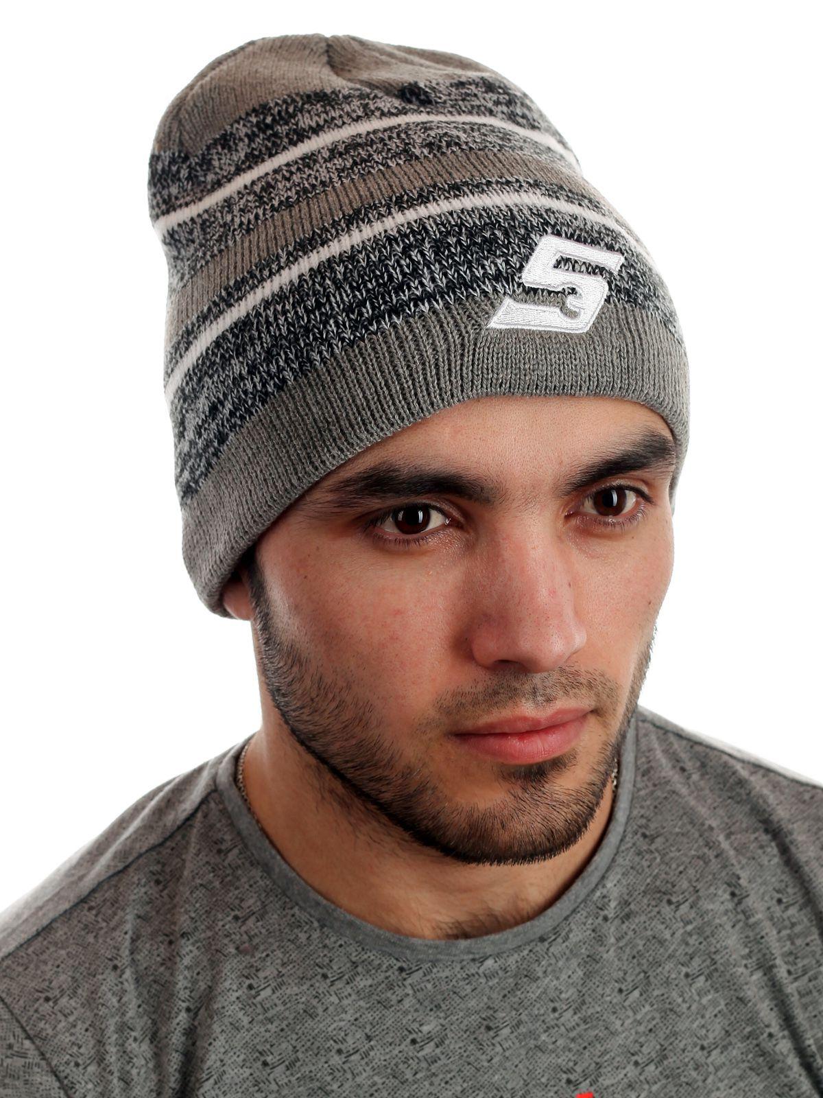 Мужская шапка для спорта и отдыха