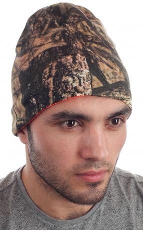 Вязаная шапка для охоты