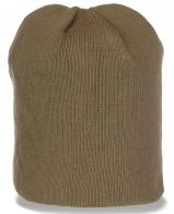 Мужская шапка хаки