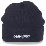 Однотонная мужская шапка OmniPlus