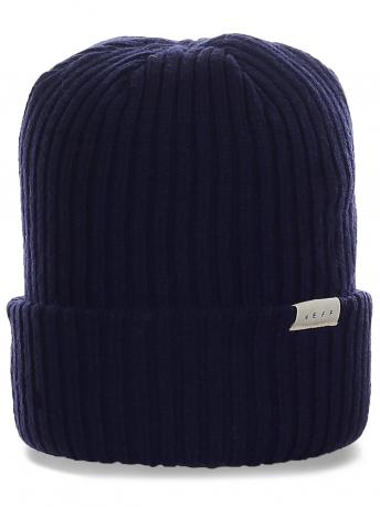 Мужская шапка от Neff. Комфортная модель с подворотом на каждый день и не только