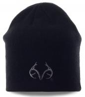 Мужская шапка Realtree черного цвета. Универсальная модель для любых событий