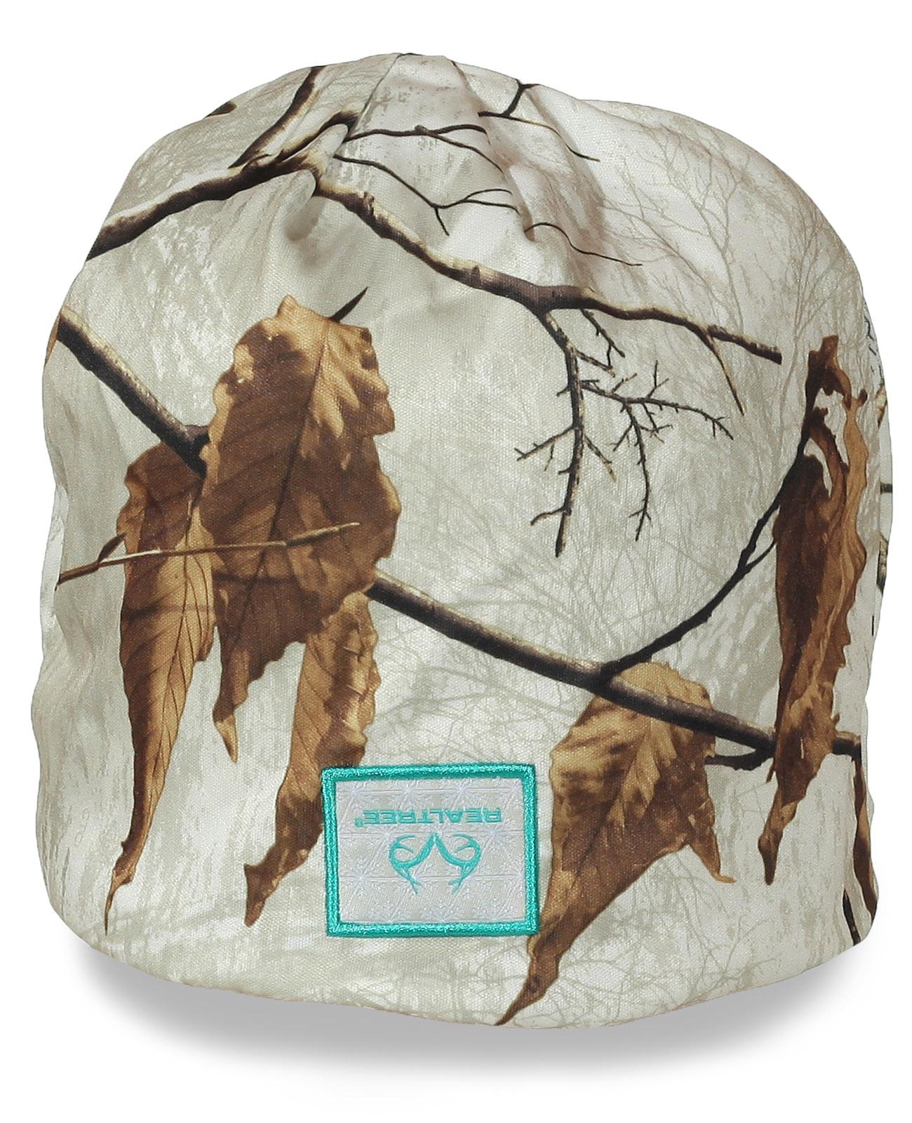 Мужская шапка Realtree. Светлый защитный цвет