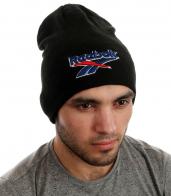 Мужская шапка Reebok со встроенными наушниками