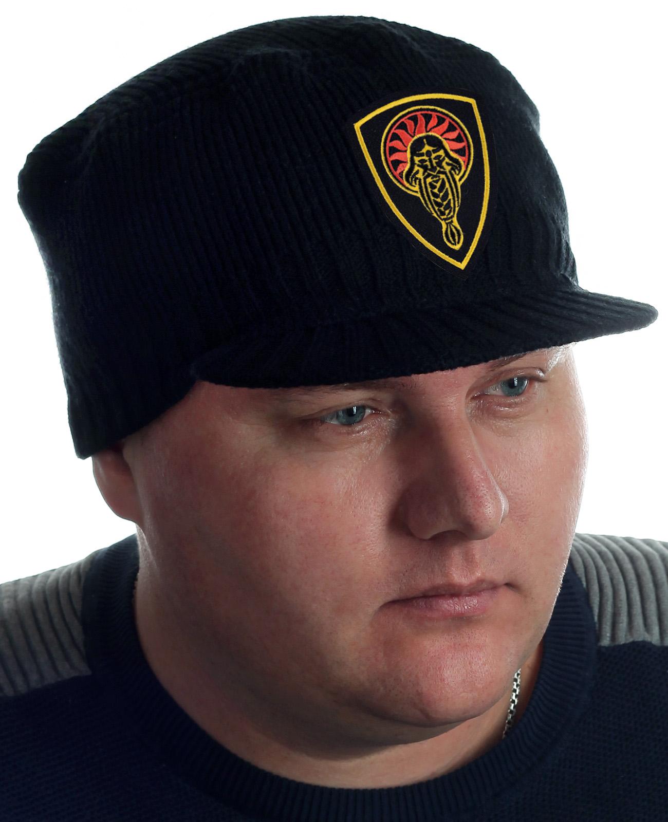 Купить мужскую шапку с козырьком Miller Way и нашивкой Даждьбог с доставкой онлайн