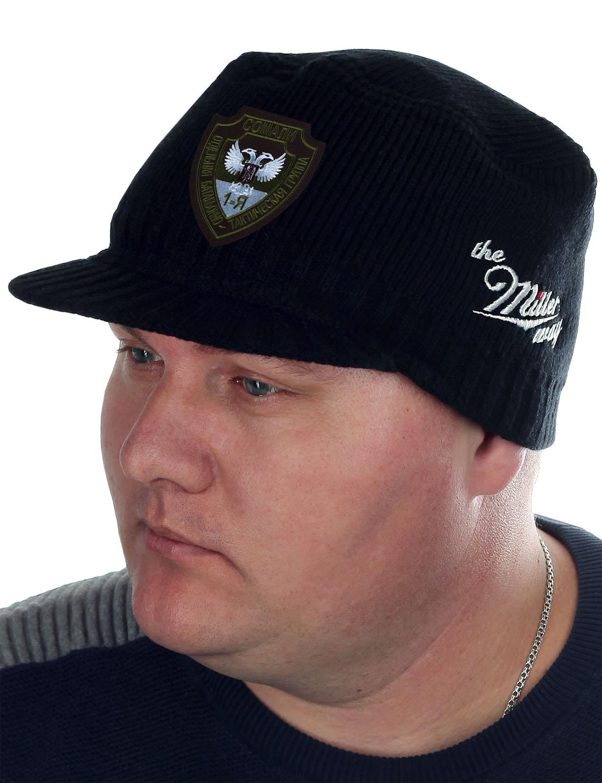 Мужская шапка с козырьком Miller Way и нашивкой Группа Сомали - купить с доставкой