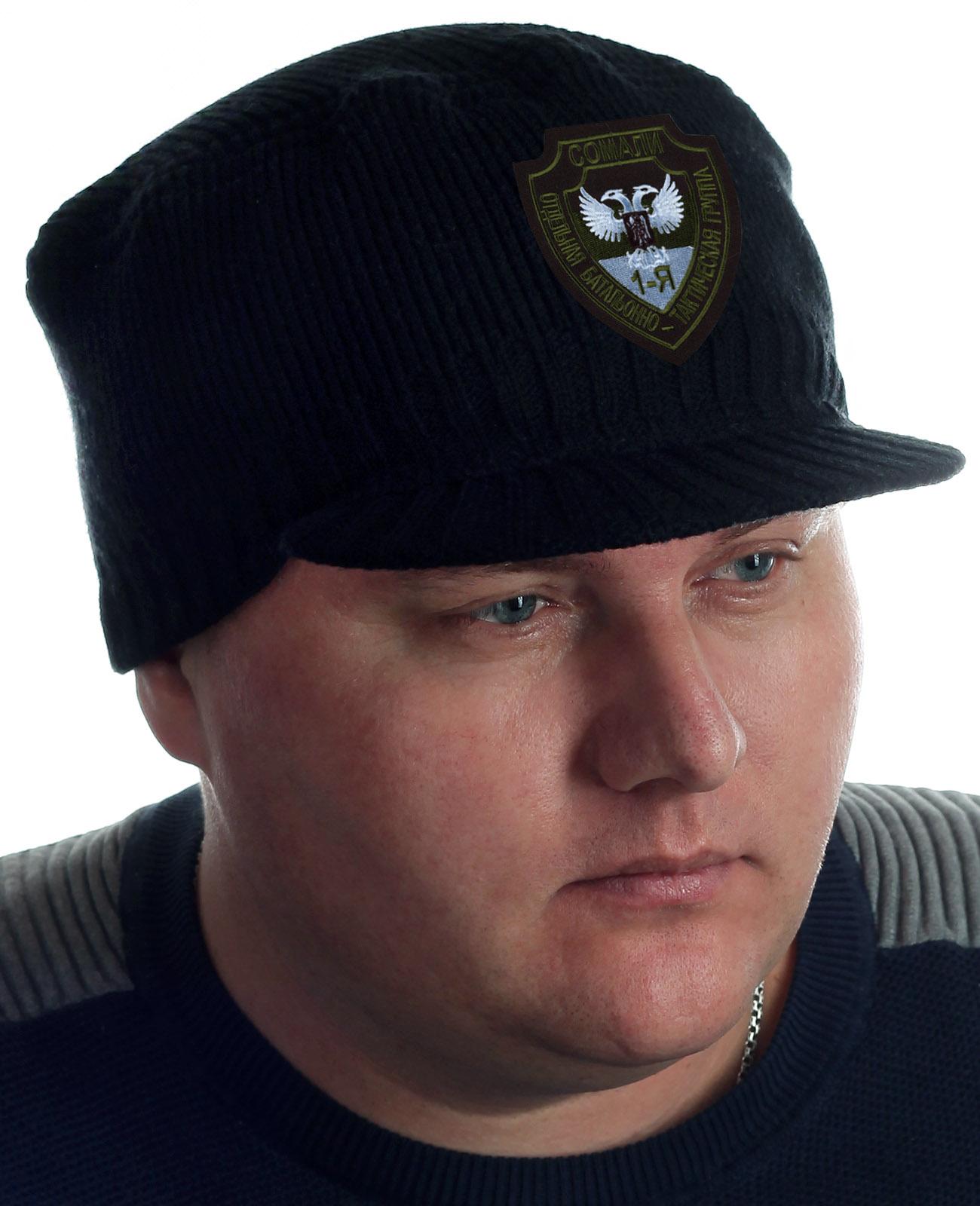 Купить Мужская шапка с козырьком Miller Way и нашивкой Группа Сомали с доставкой онлайн