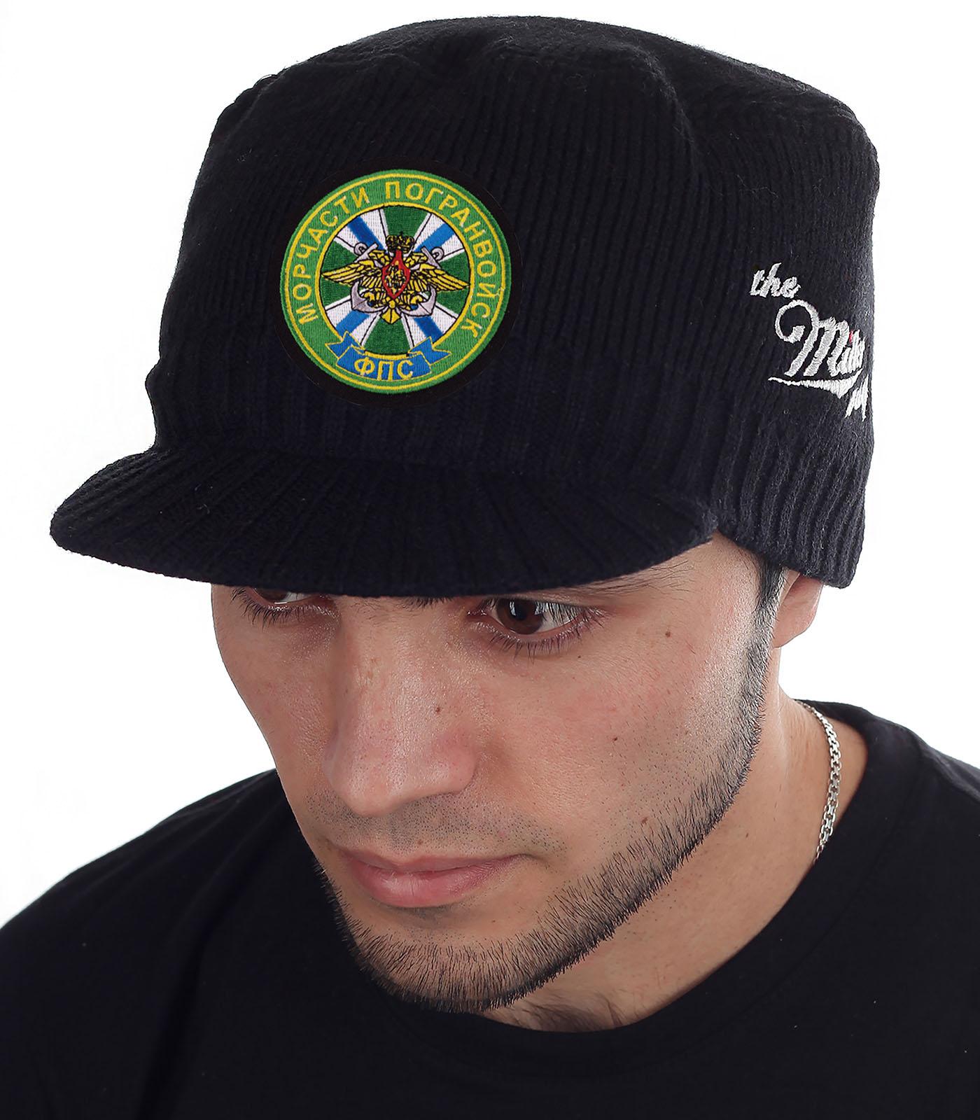 Мужская шапка с козырьком от Miller Way - заказать в розницу