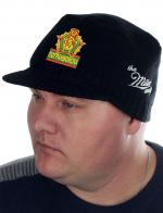 Мужская шапка с козырьком от Miller Way и нашивкой Погранвойска - купить онлайн