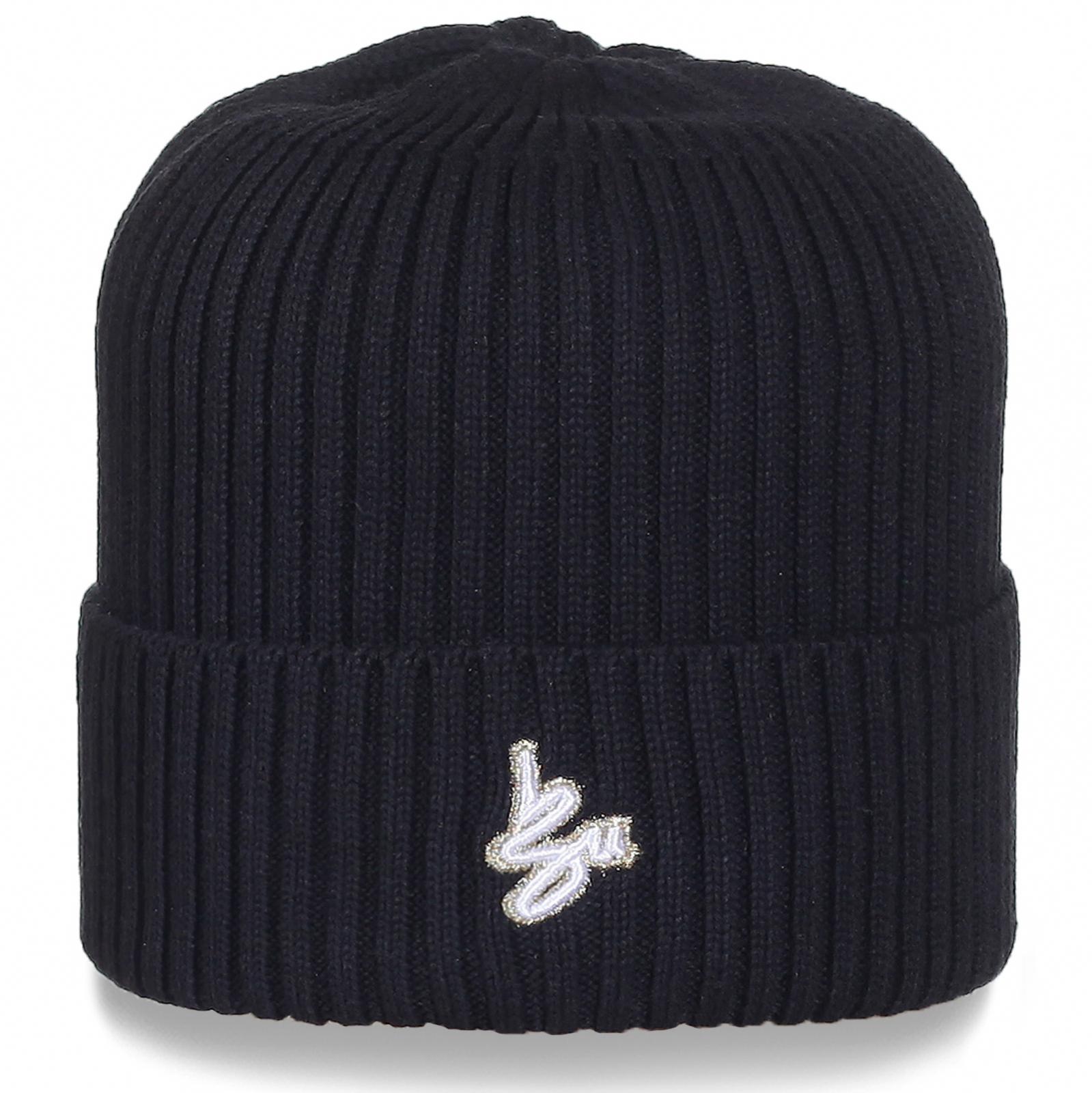 Мужская шапка Sportswear черного цвета