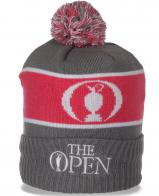 Мужская шапка The Open на флисе. Современная модель на все случаи жизни