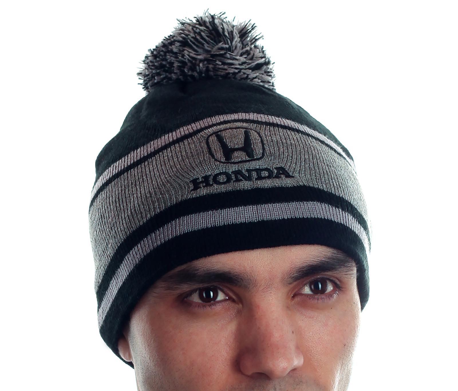 Мужская шапка владельцам автомобилей солидного бренда Хонда