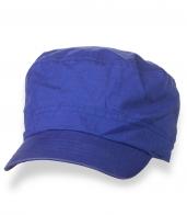 Мужская летняя синяя кепка-немка