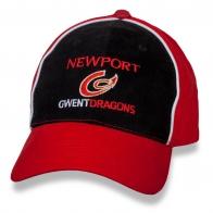 Мужская спортивная бейсболка Newport Gwent Dragons.