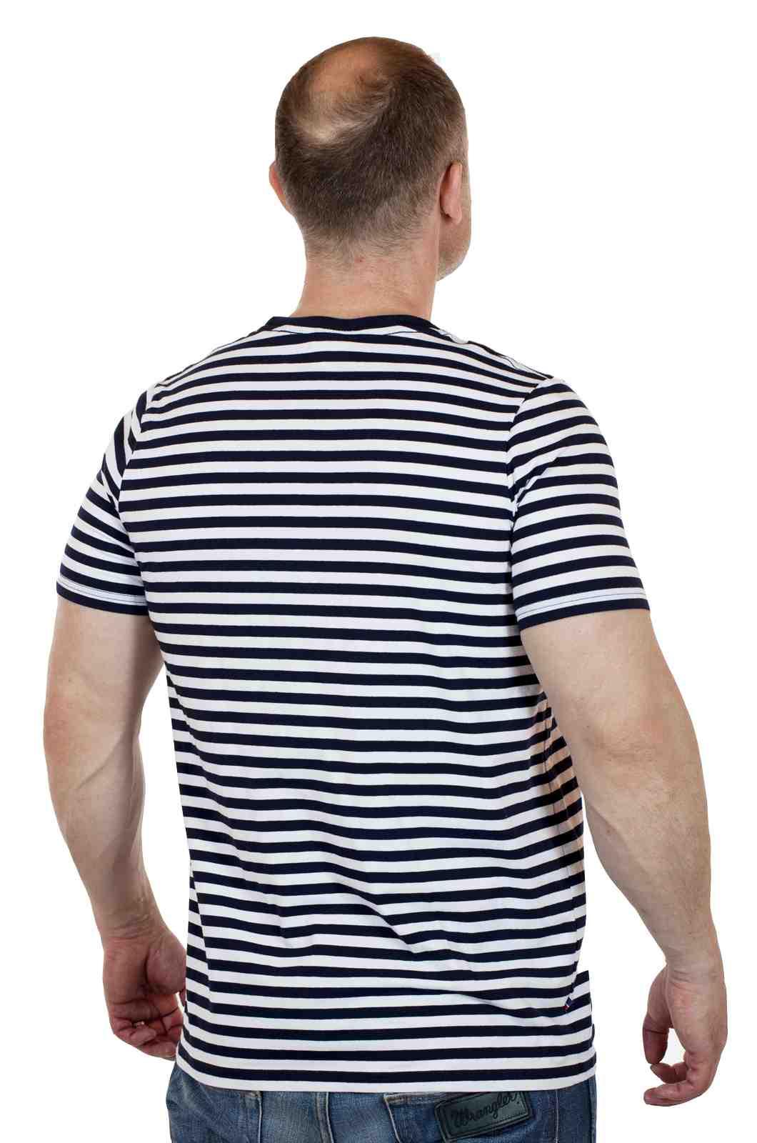 Мужская спортивная футболка Le Coq Sportif (Франция)-сзади