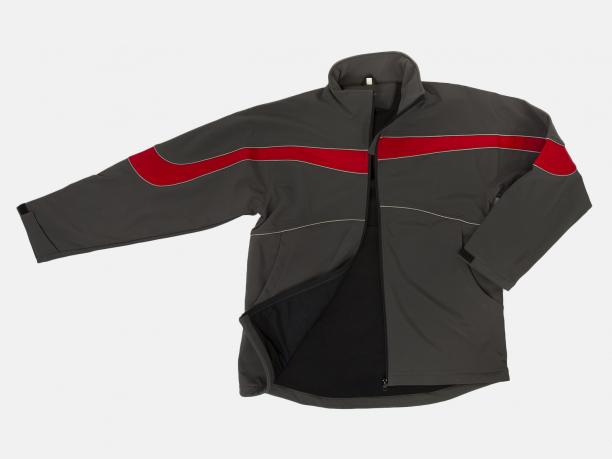 Мужская спортивная куртка на флисе
