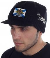 Мужская стильная демисезонная шапка Miller Way - заказать с доставкой