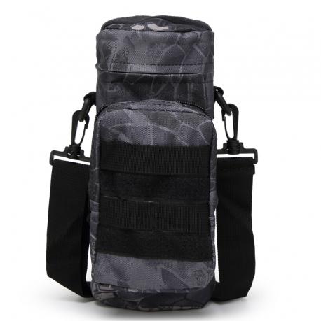 Мужская сумка через плечо для термоса или бутылки с водой купить недорого