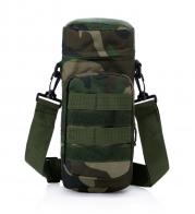 Мужская сумка на плечо для термоса или бутылки с водой