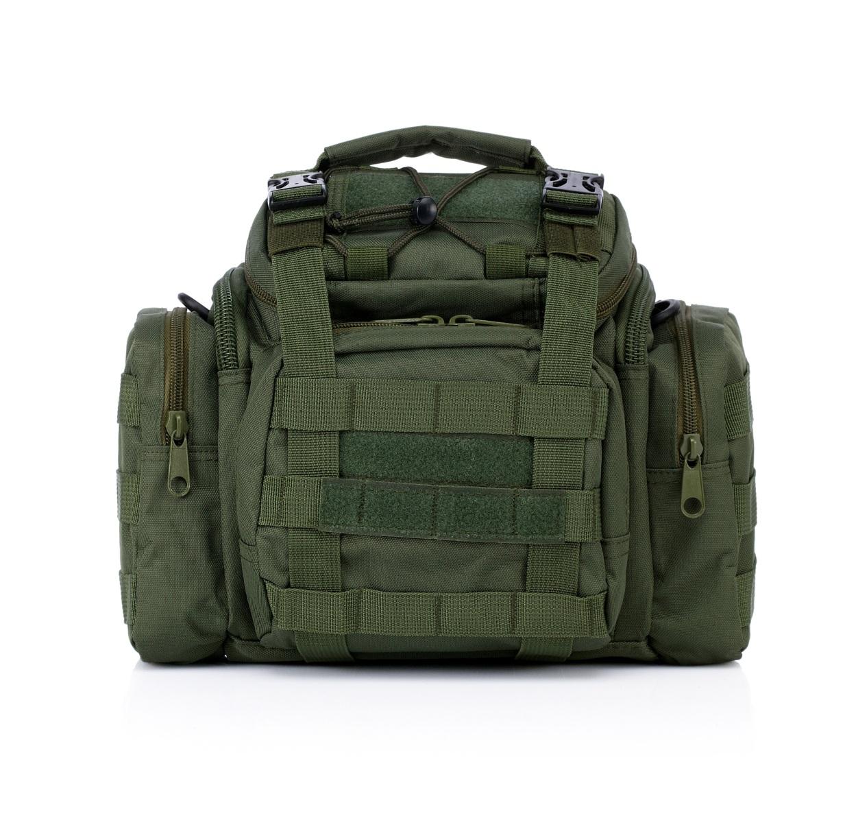 Мужская сумка на плечо с поясным креплением MOLLE купить недорого