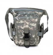 Мужская сумка на пояс или бедро для охоты и рыбалки